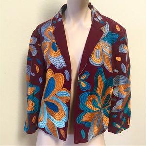 Jackets & Blazers - Anthropologie Woodstock jacket embroidered